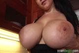 Big Tit Plays With Didlo