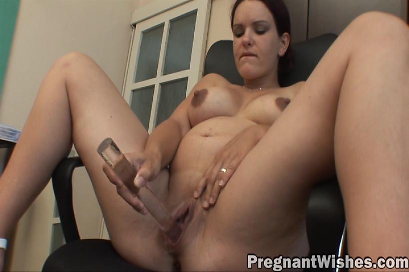 femme enceinte pipe
