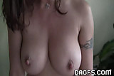 Milf does her ironing naked