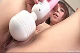 Big titty Mai Serizawa with three toys cumming hard