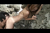 Hot japanese chick loves outdoor