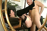 Check mature amateur in stockings
