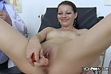 Tarya King Gets Dildo And Metal Tool