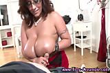 Spex pov busty hoe loves tit fucking