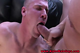 Hunky muscular stud eager cock drooling