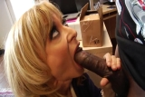 Nina Hartley interracial blowjob