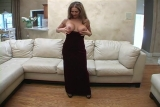 Hot Rio Wife velvet dress
