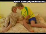 Russian Blonde Mature woman