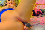 Dildo riding by sexy Maribella