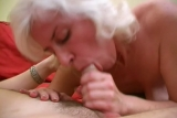 Blonde mature fucks joe
