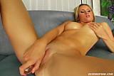 Nikita masturbating