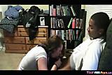 Cam; Black Guy Pumps His White GF Like Crazy