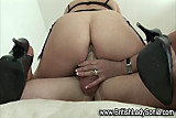 Stockinged femdom fetish brit babe