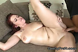 Big Cock Pleasures Redhead Chick