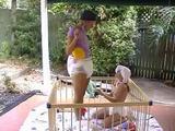 Diaper Adult Baby Girl